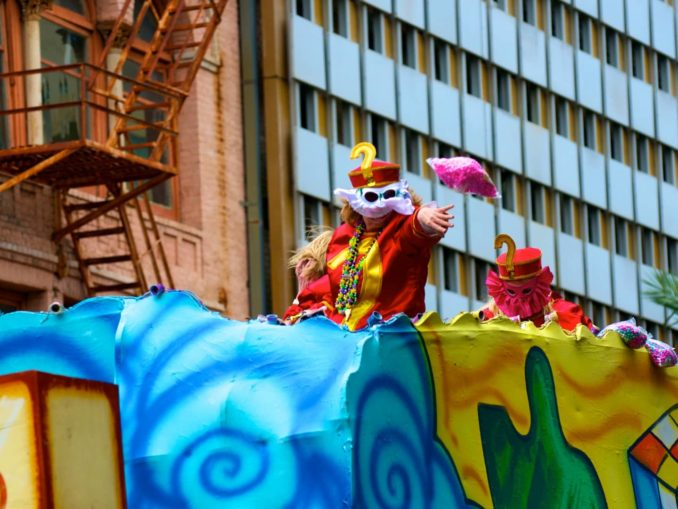 New Orleans Parade Schedule