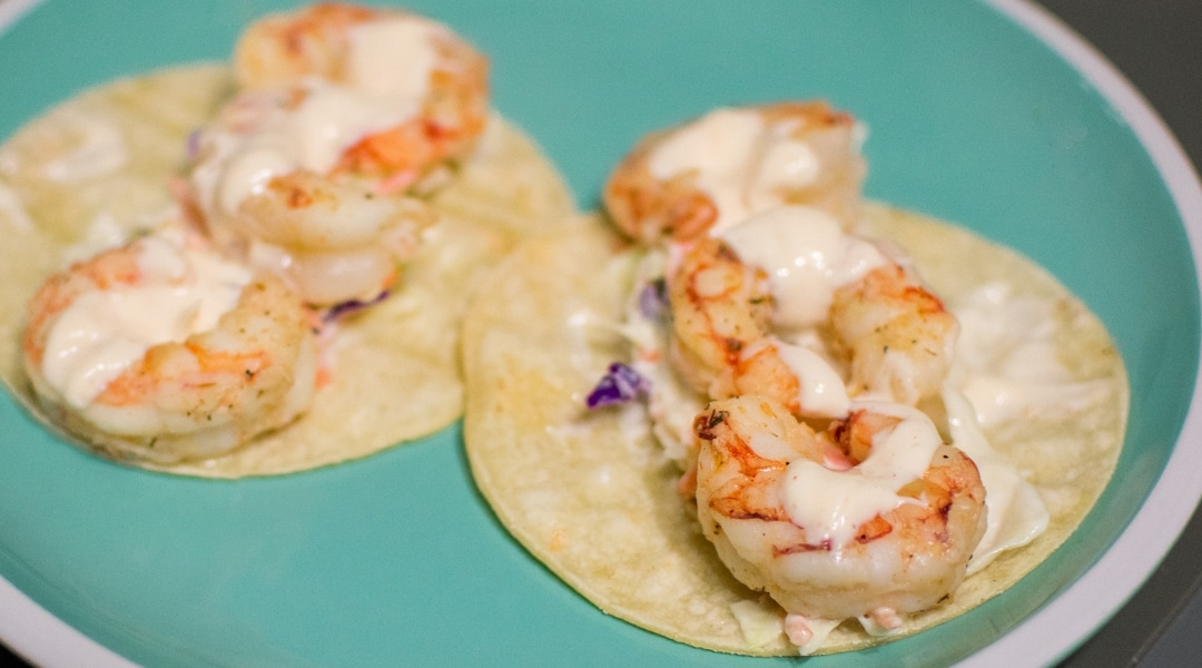 Super Easy Shrimp Tacos That Are Perfect For Anytime!