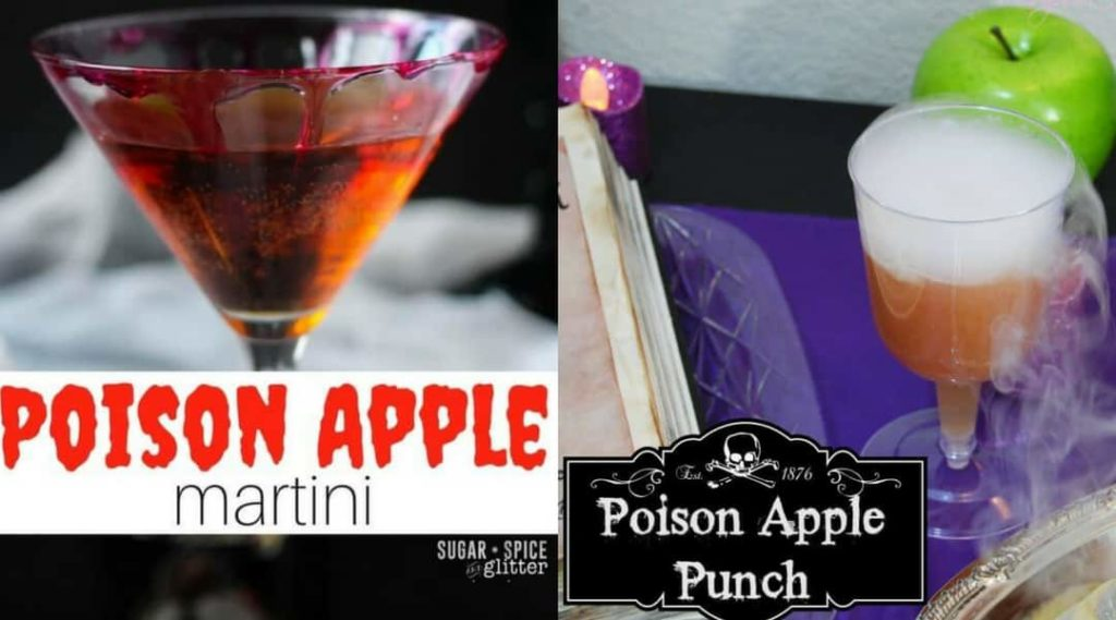 Disney Halloween Drinks