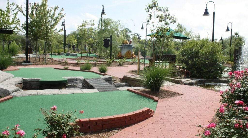 City Putt for Teen Party In New Orleans