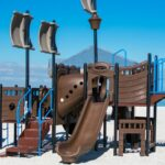 Cute Beach Playground On Ft. Pickens Road On Pensacola Beach