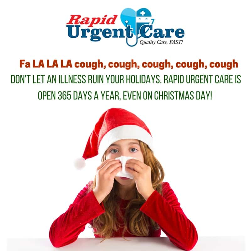 rapid urgent care Christmas