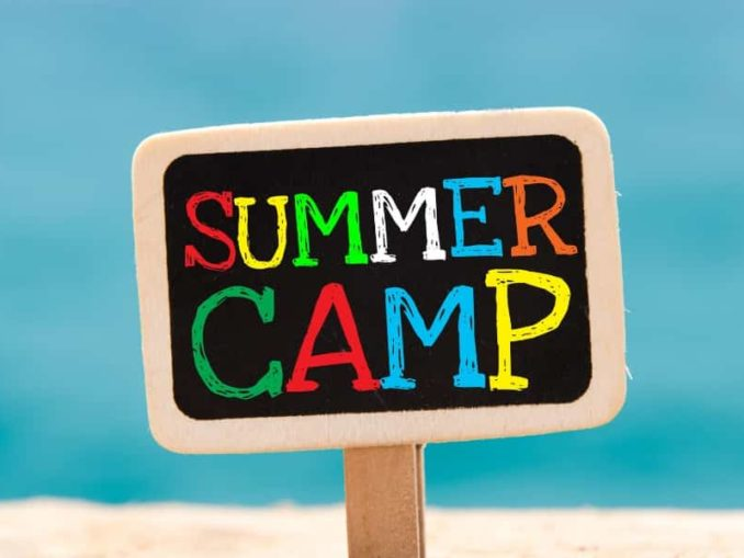 summer camp ad page
