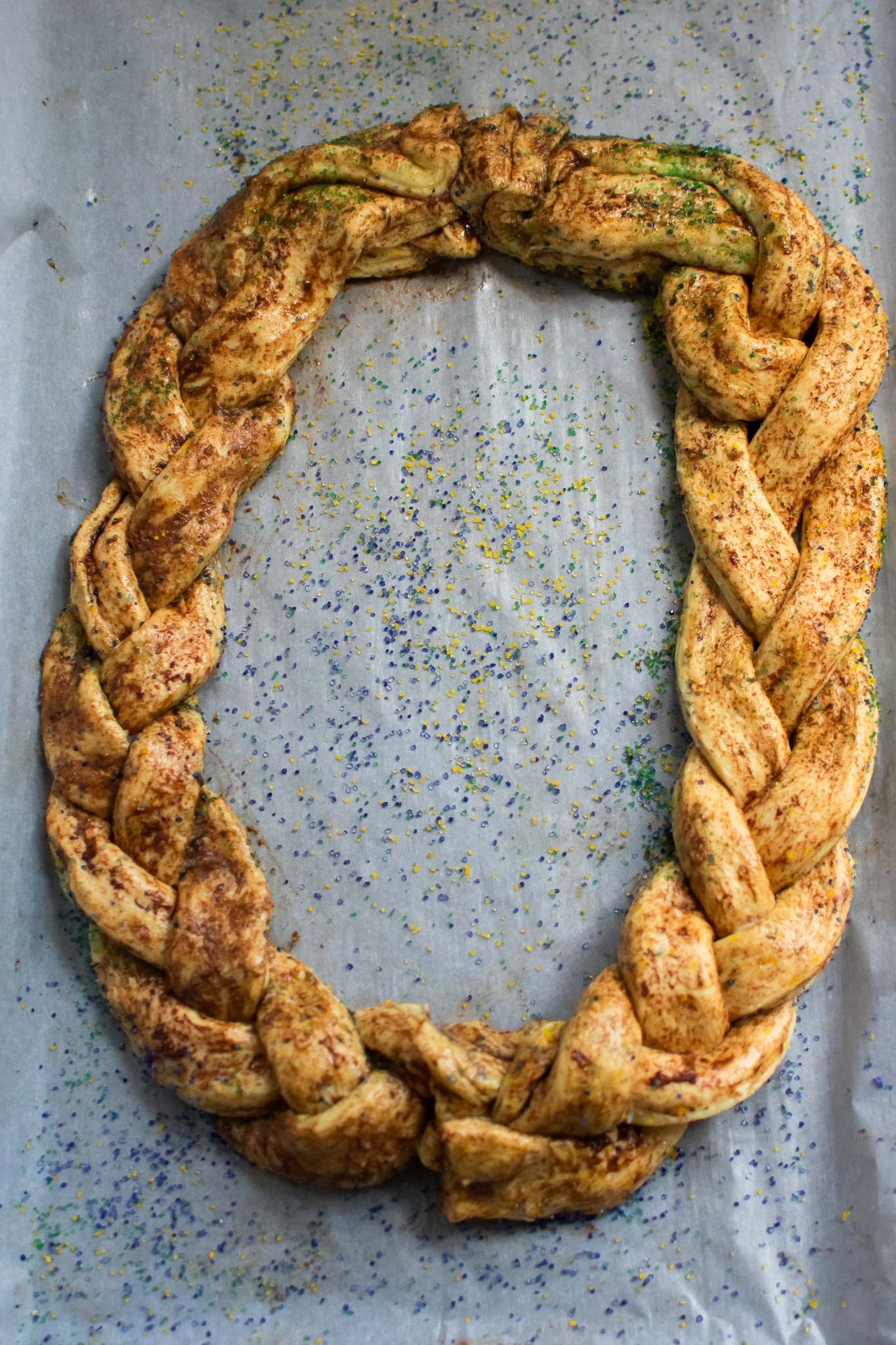 Easy Homemade King Cake 2