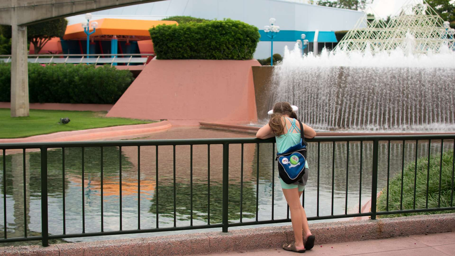 Epcot fountains