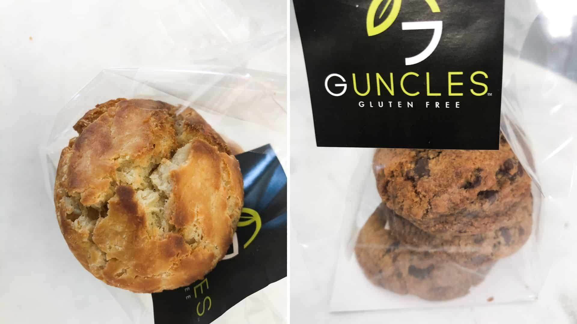 Buscuits and Chocolate Chip Toffee Cookies at Guncles