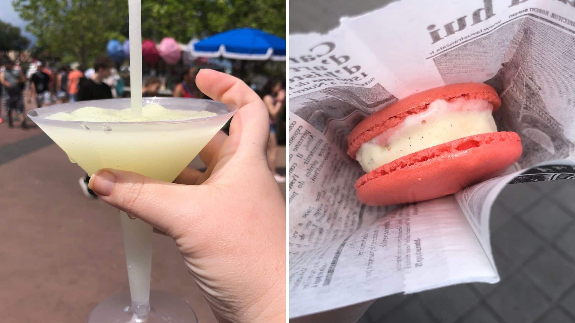 Grey Goose Sulshi and Ice Cream Sandwch Epcot Disney World
