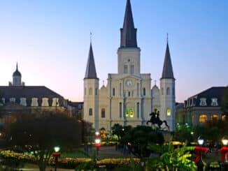Christmas Day In New Orleans