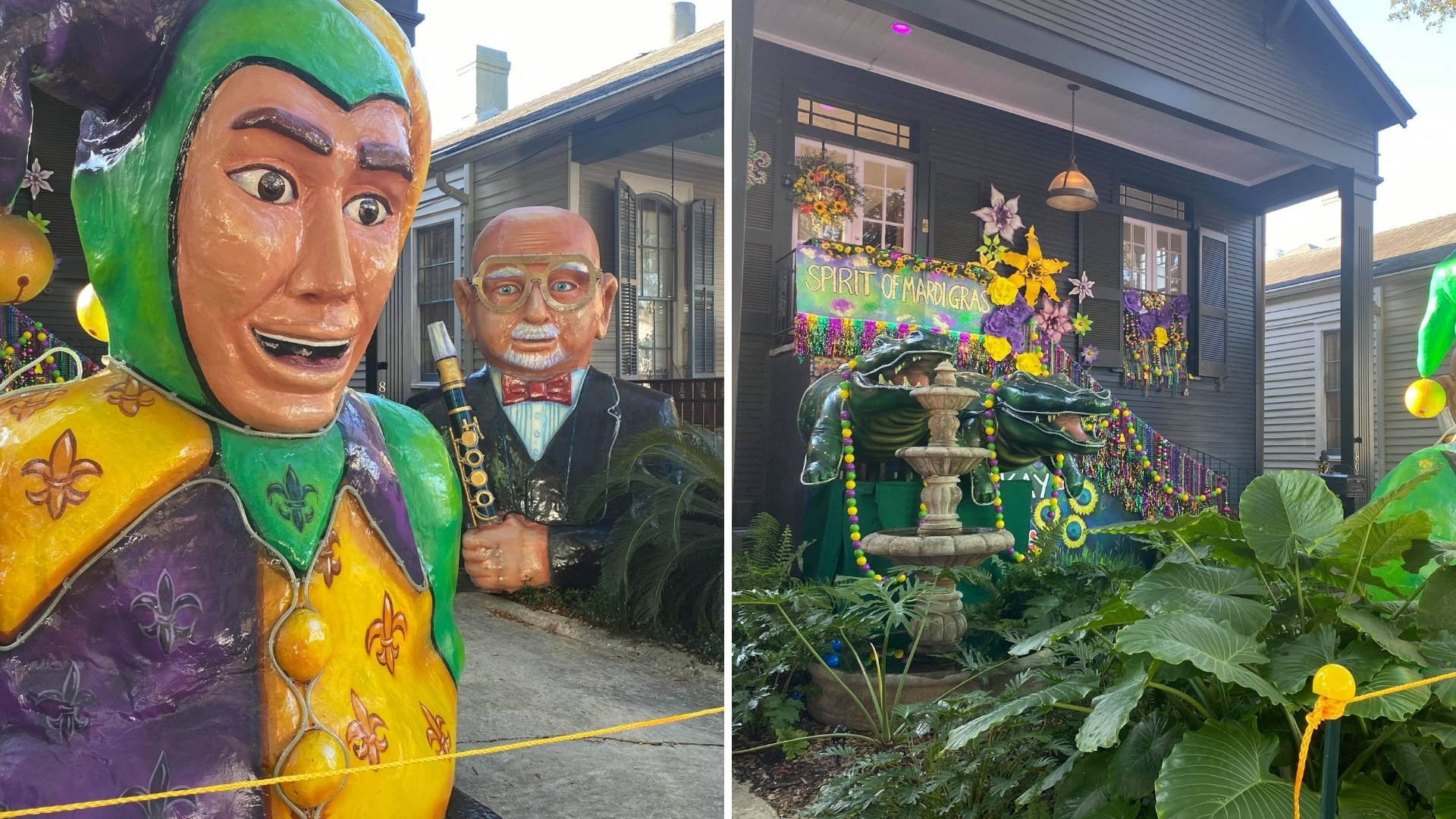 House Float on Napoleon in New Orleans